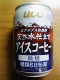 UCC北アルプス安曇野天然水仕立てアイスコーヒー