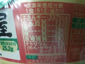 低糖質麺はじめ屋 醤油豚骨味 栄養成分表